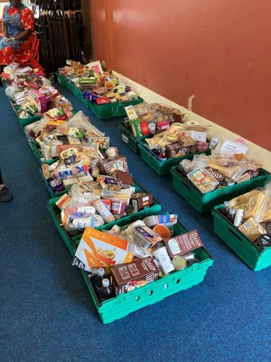 CARIS Haringey Food Boxes