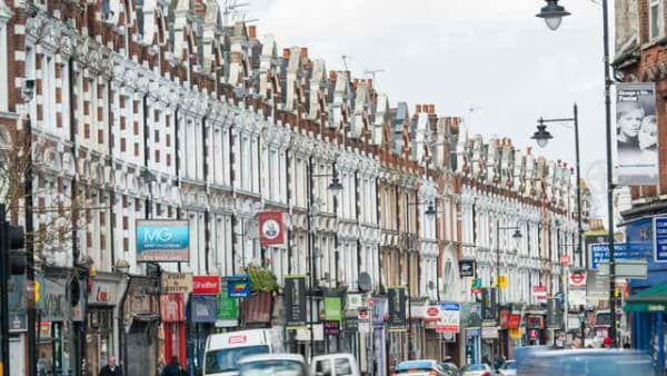 Image of a Haringey high street
